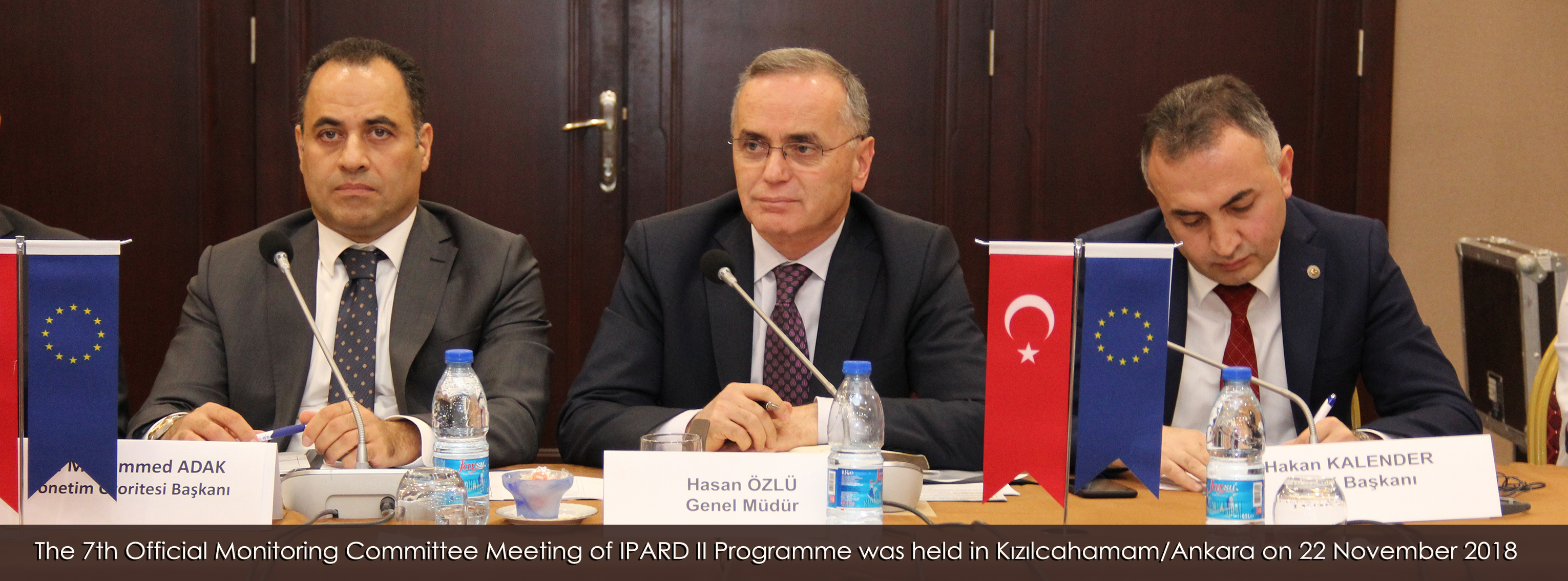 The 7th Official Monitoring Committee Meeting of IPARD II Programme  was held in Kızılcahamam/Ankara on 22 November 2018.