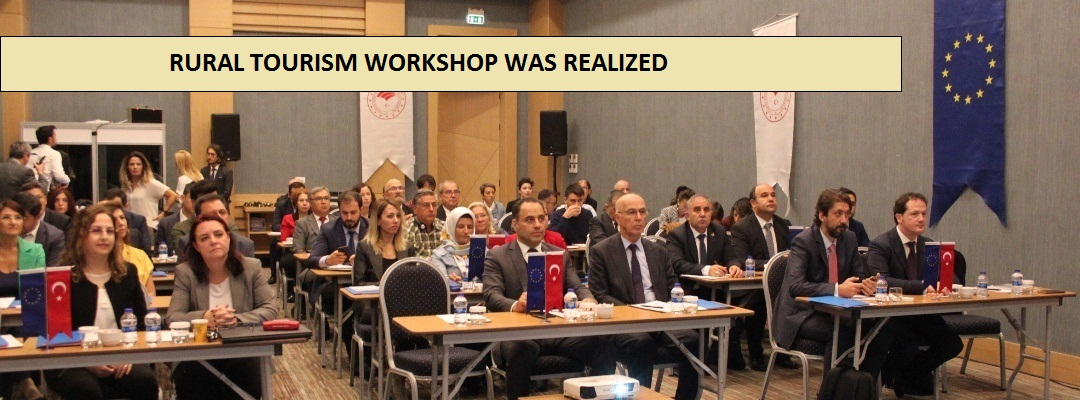 RURAL TOURISM WORKSHOP WAS REALIZED